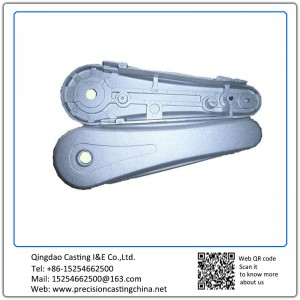 Aluminium Die Castings Motorcycle Spare Parts  Chain Cover