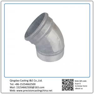 Aluminium die castings pipe fittings elbow