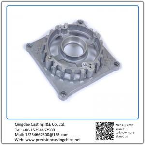 Aluminum Generator Spare Parts  Die Castings Auto Parts Aluminium Fan Body