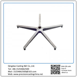 Aluminum office swivel chair base