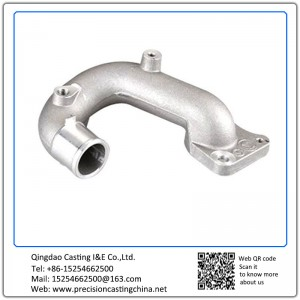 Casting Aluminum Exhaust Motorcycle Spare Parts