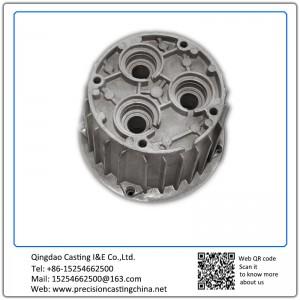 Custom made aluminum air compressor for excavator