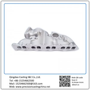 Aluminum Casting Machinery Auto Parts Inlet Pipe Press Casting