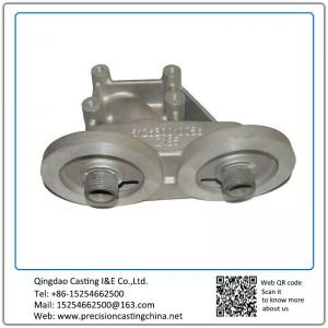 Aluminum Die Casting Dual Oil Filter Brackets