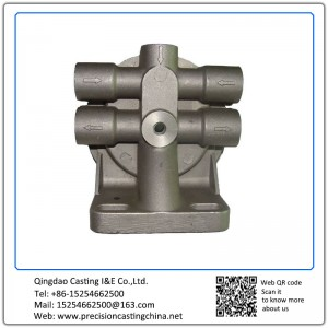 Aluminum Die Casting Fuel Oil Filter Mounts Cast Aluminum