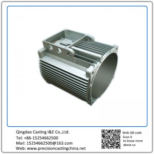 Aluminum Die Casting Motor Housing  Electonic Motor Housing