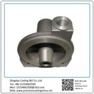 Aluminum Die Casting Oil Filter Base