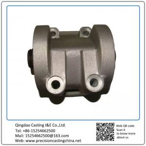 Aluminum Die Casting Oil Filter Pedestal Casting