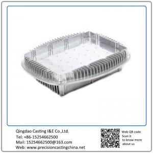 Custom made aluminum die casting part for refrigeration equipment