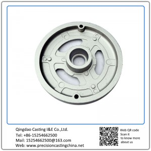Cast aluminum plate Die Casting Material Handling Spare Parts