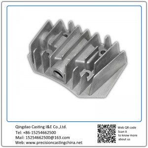 Custom made die casting aluminum electronic component