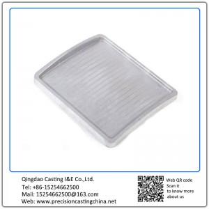 Custom made die casting aluminum machine cover