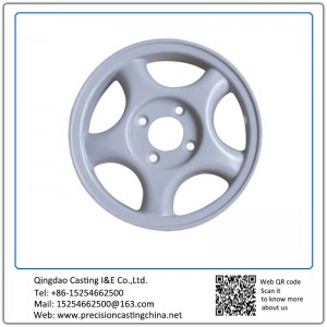 High Pressure Die Casting Auto Part Aluminum pulley