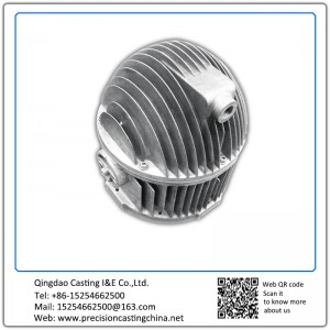 High quality customized die casting Aluminum Cylinder End Cap Radiator Accessories