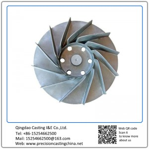 Motorcycle Spare Parts Impeller Gray Iron Resin Bonded Sand Casting