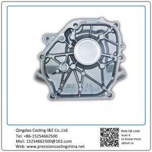 Supply aluminum die casting Cylinder End Cover aluminum parts