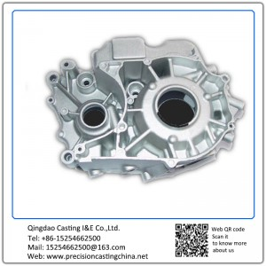 Supply gasoline engine spart part engine crankcase Die casting generator crankcase