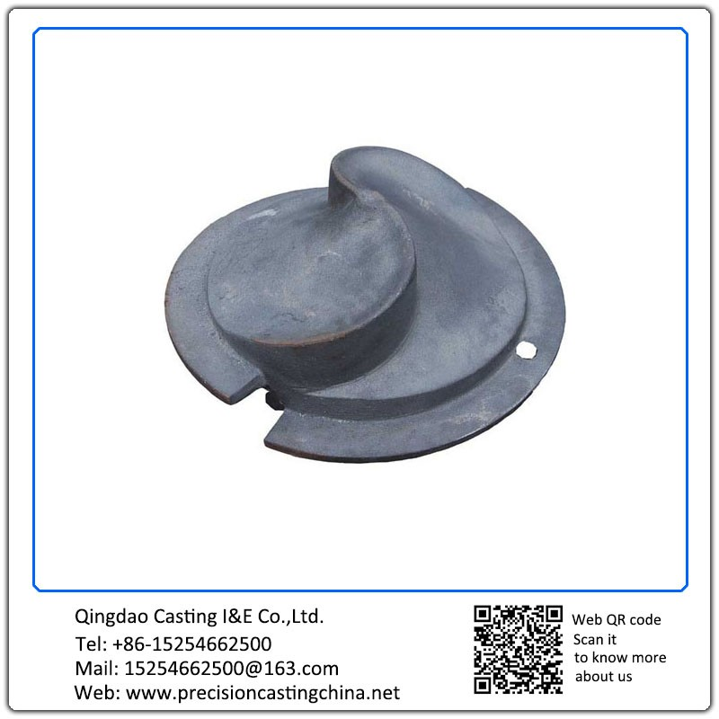 Customized Screw Auger Casting Mining Machinery Parts Nodular Iron
