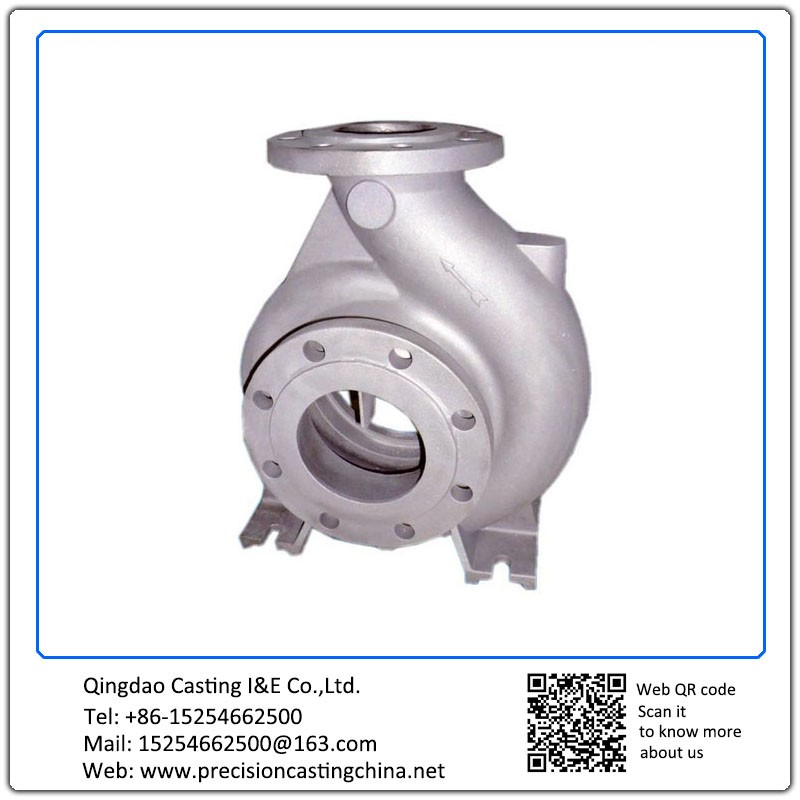 Customized Spherical Cast Iron Resin-Bonded Sand Cast Blower Body Water Pump Spare Parts Components