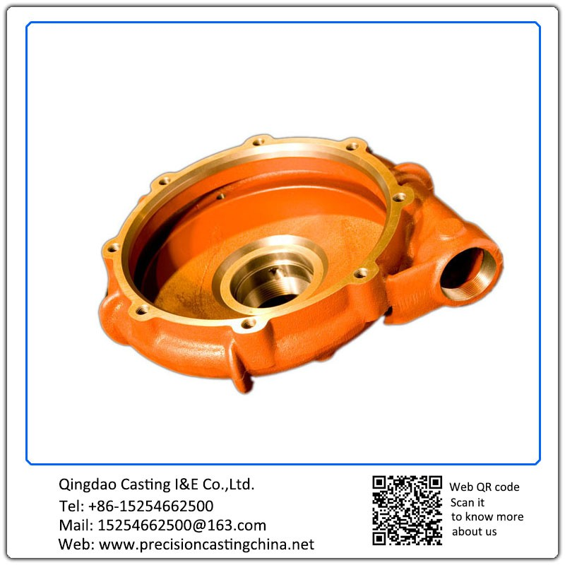 Customized Spherical Graphite Cast Iron Resin-bonded Sand Casting Pump Parts