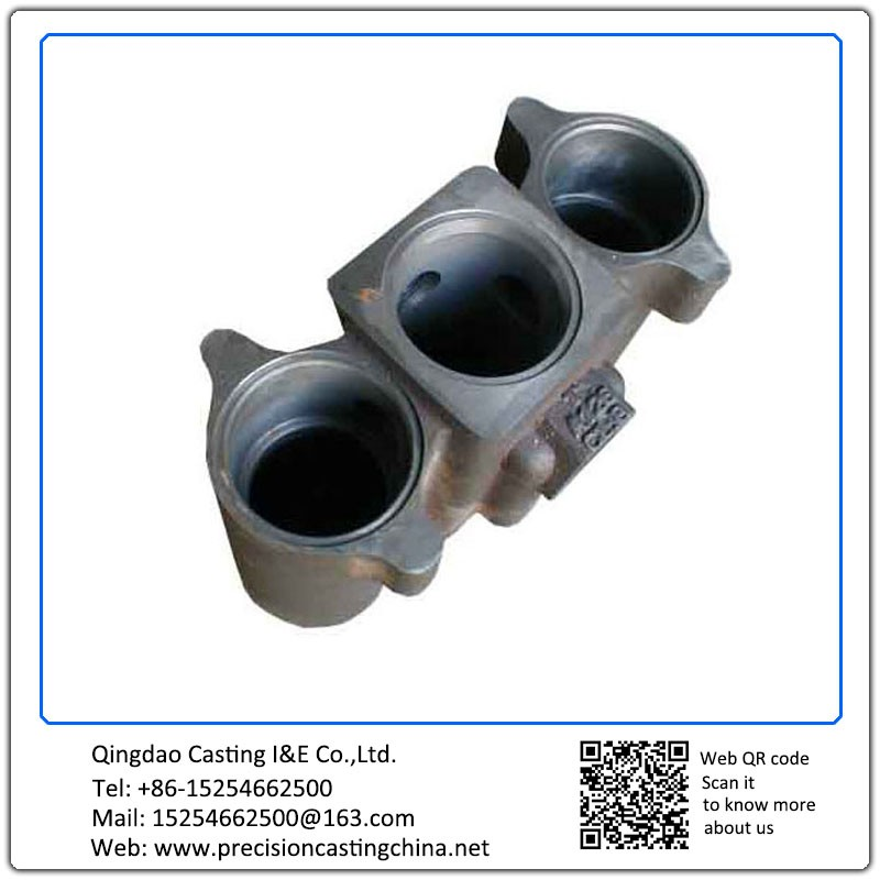 Customized Strainer Spherical Cast Iron Resin Coated Sand Casting