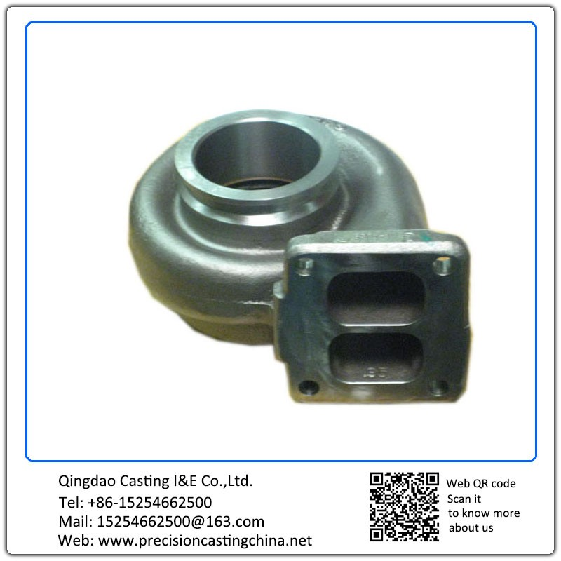 Customized Turbocharger Mild Steel Waterglass Casting Concrete Pump Spare Parts