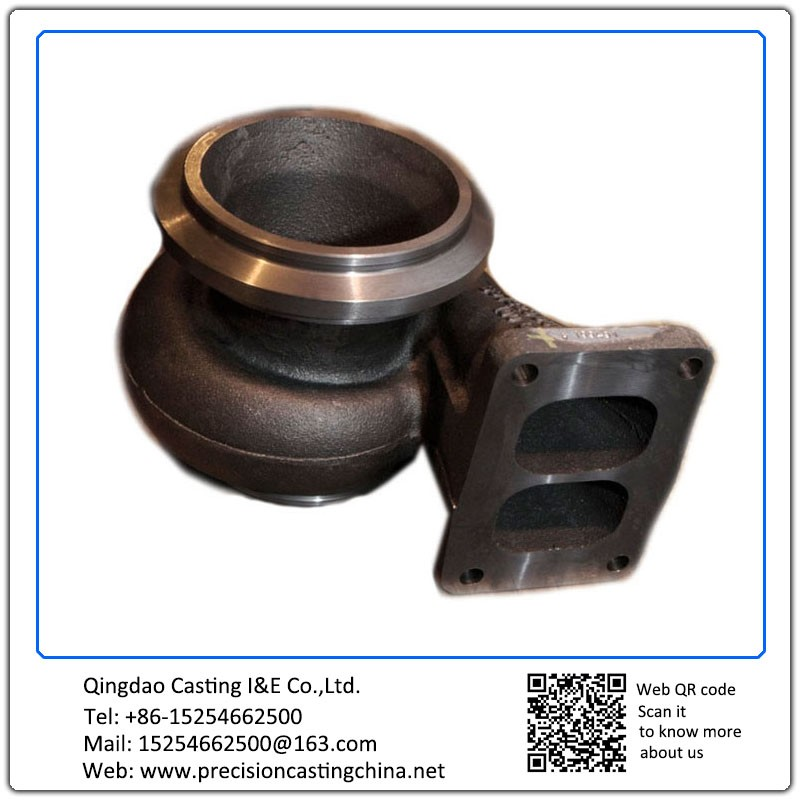 Customized Turbocharger Nodular Iron Investment Casting  Truck Parts