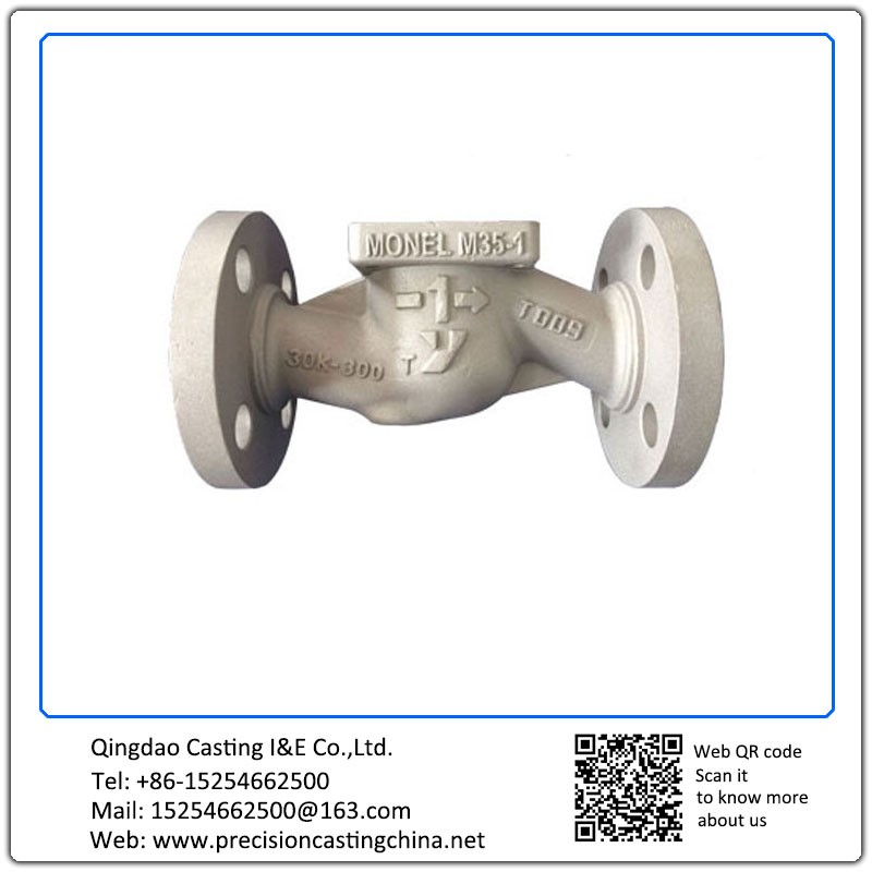 Customized Valve Housing Grey Iron Resin Sand Casting