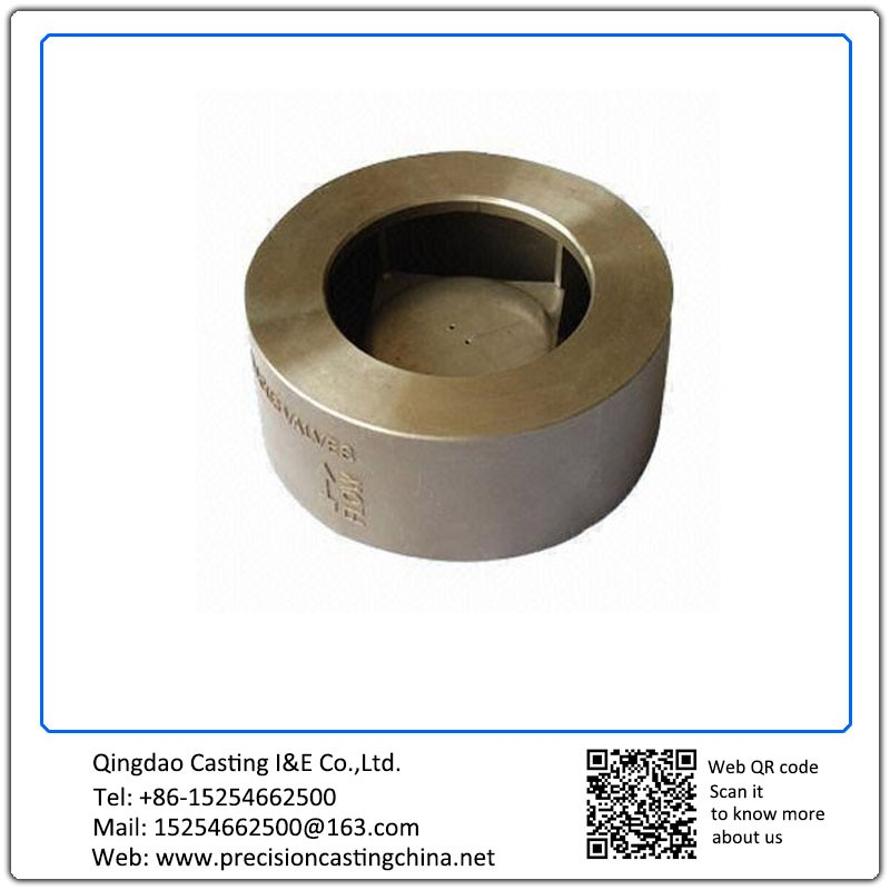 Customized Valve Part Made of Stainless Steel ISO 9001 2008 Certified