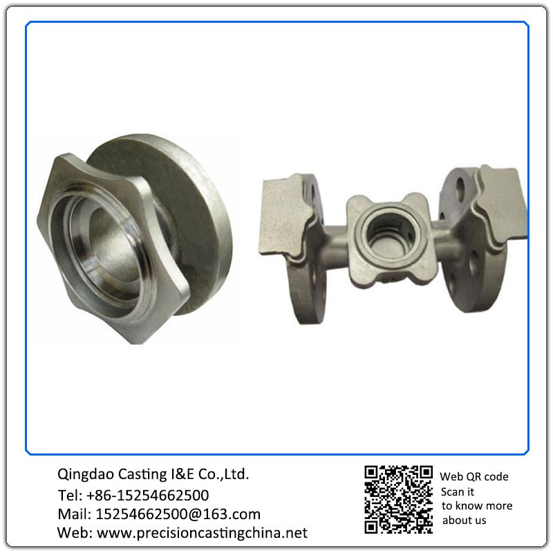 Customized Valve Shells Mild Steel Engineering Machinery Parts Resin Coated Sand Casting